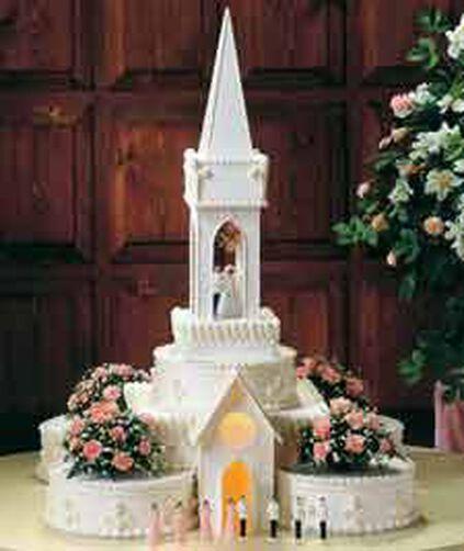 Wilton Wedding Cake Cathedral Kit