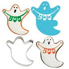 Ghost Stencil-A-Cookie