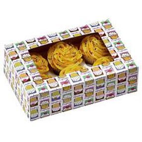 Cupcake Heaven Cupcake Boxes (Holds 6)