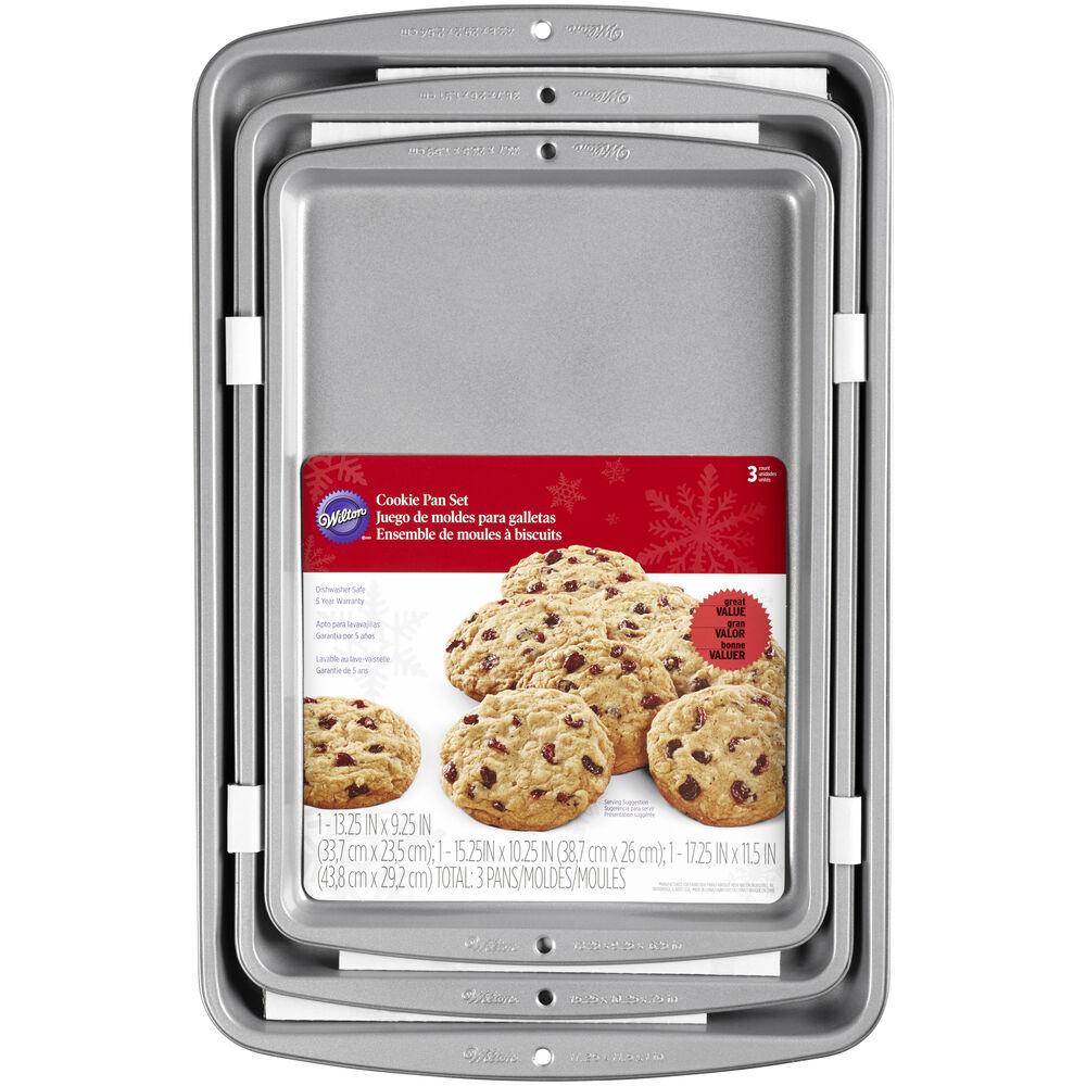 Recipe Right 174 Cookie Sheet Set Wilton