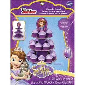 Sofia the First Cupcake Stand