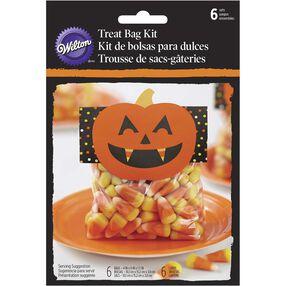 Halloween Jack O' Lantern Treat Bag Kit