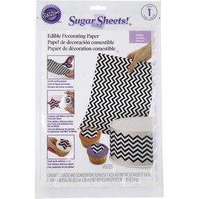 Chevron Sugar Sheets! Edible Decorating Paper