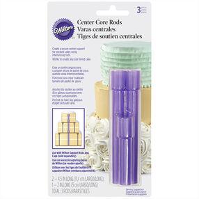 Wilton Center Core Cake Rods, 3-Pc.
