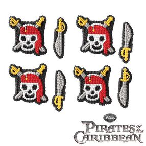 Disney Pirates of the Caribbean Icing Decorations