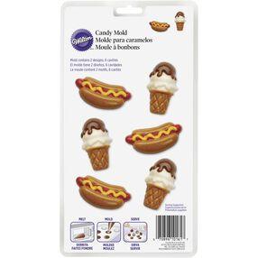 Hotdog & Ice Cream Cone Candy Mold