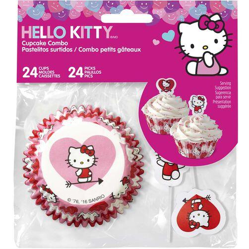 Hello Kitty Cupcake Combo Pack