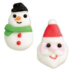 Santa/Snowman Royal Icing Decorations