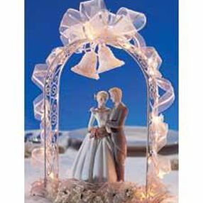 Lighted Arch Centerpiece