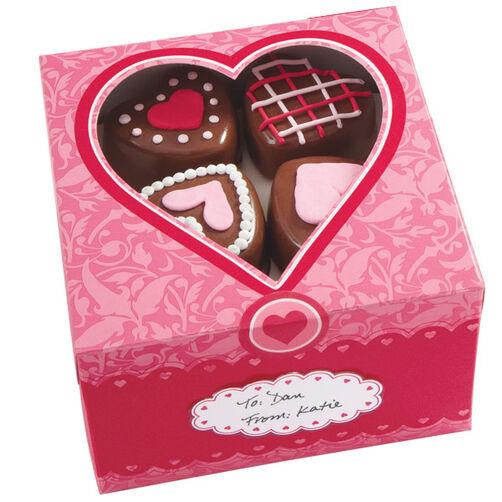 Valentine Treat Boxes Wilton