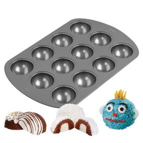 Wilton 12-Cavity Orb Cakes Mini Cake Pan 2105-0363