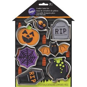 Wilton Halloween Haunted House Cookie Cutter Set