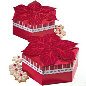 Holiday Poinsettia Gift Boxes