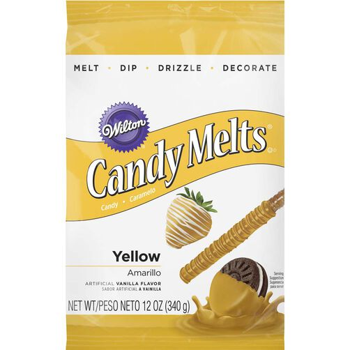 Yellow Candy Melts Candy