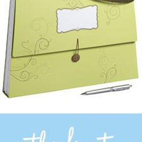 The Knot Expandable Purse File - Swirl