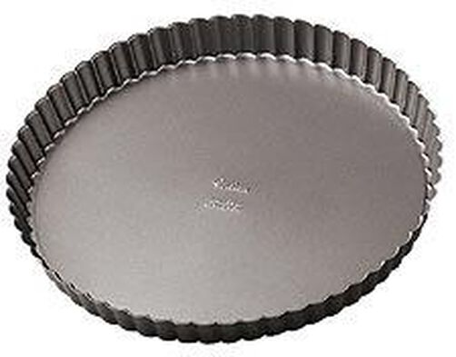 11 x 1 1/8 in. Excelle Elite Non-Stick Tart/Quiche Pan
