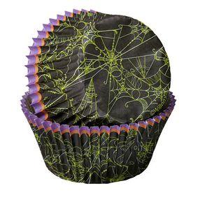 Wilton Halloween Spider Web Baking Cup, 75 Ct.