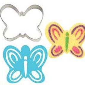 Butterfly Stencil-A-Cookie