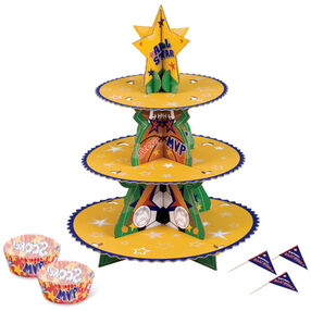 Sports Cupcake Stand Kit
