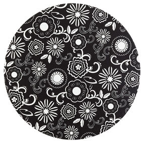 Wilton 12 in. Black and White Flower Cake Boards 3 Ct. 2104-0398