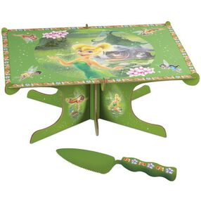Disney Fairies Cake Stand with Server