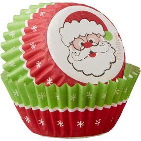Wilton Santa Mini Cupcake Liners