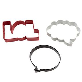 Word Bubbles & LOL Cookie Cutter Set