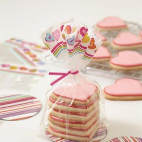 Wilton Valentine's Day Cookie Gifting Kit, 8-Count