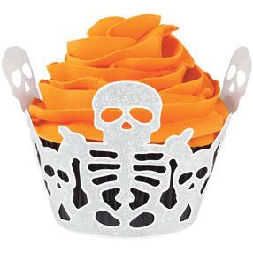 Skeleton Cupcake Wrap
