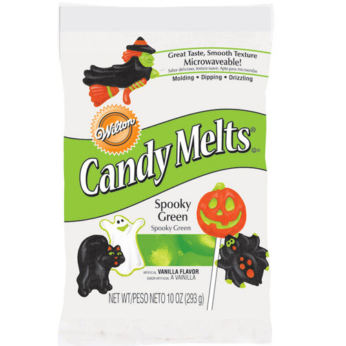 Spooky Green Halloween Candy Melts*