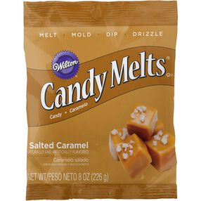 Salted Caramel Flavor Candy Melts Candy 8 oz.