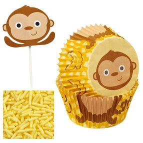 Wilton Monkey Cupcake Decorating Kit  416-2198