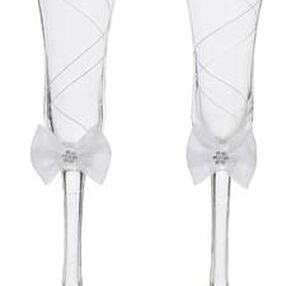 Graceful Wedding Day Collection Toasting Glasses