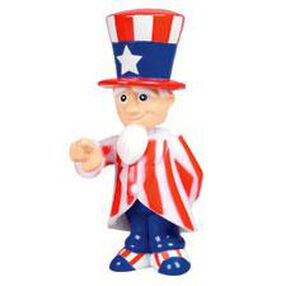 Uncle Sam Bobbling Cupcake Toppers