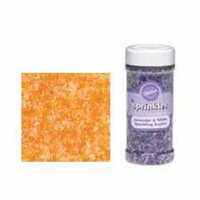 Orange/White Sparkling Sugars