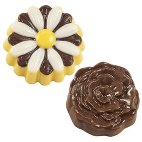 Daisy/Flower Cookie Candy Molds
