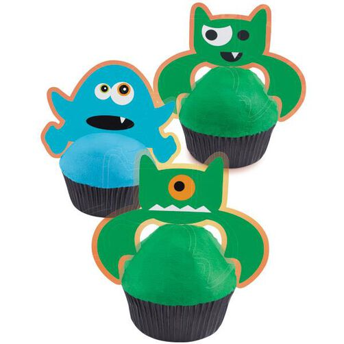 Ghoulish Gourmet Cupcake Costumes