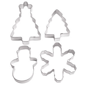 Holiday 3D Scene Cookie Cutters