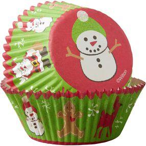 Wilton Snowman Cupcake Liners