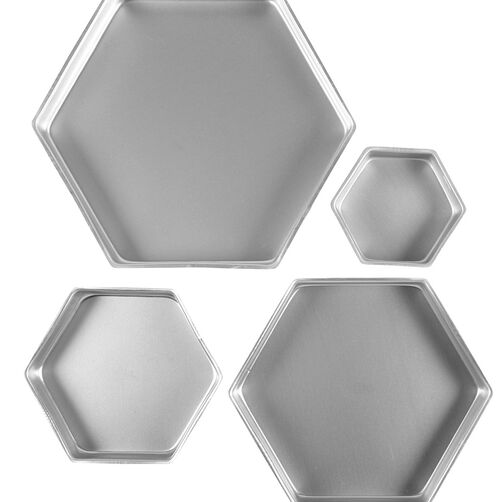 Performance Pans Hexagon Pans Set Wilton