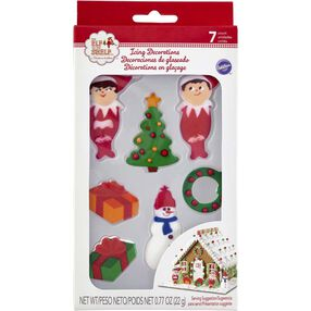 The Elf on the Shelf Gingerbread Icing Decorations
