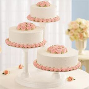 3 Tier Cake and Dessert Stand