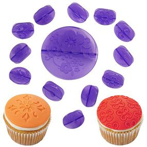 Wilton 14-Pc. Flowers Fondant Cupcake Decorating Set 2104-0056
