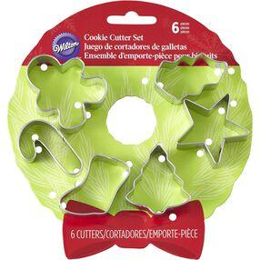 Wilton Holiday Wreath Mini Cookie Cutter Set