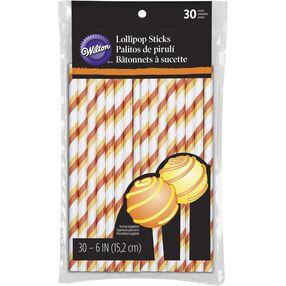 Halloween Candy Corn Lollipop Sticks