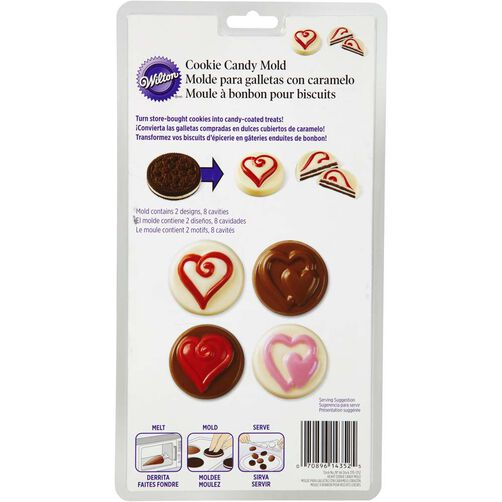 Cookie Heart Candy Mold