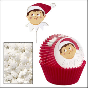 The Elf on the Shelf® Cupcake Decorating Kit