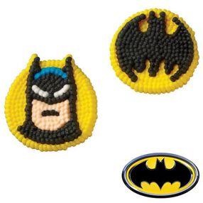 Batman Icing Decorations