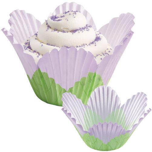 Lavender Petal Baking Cups