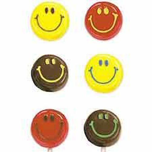 Smiley Face Lollipop Mold Wilton